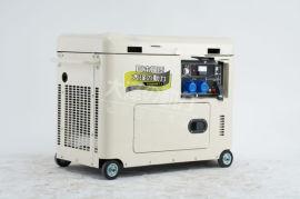 全铜三相小型3千瓦静音柴油发电机组