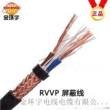 深圳市金环宇电线电缆RVVP屏蔽线2芯1.5