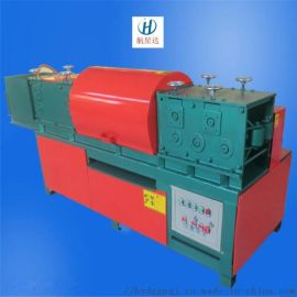 HXD-1688型多功能双曲线旋转钢管调直除锈刷漆机