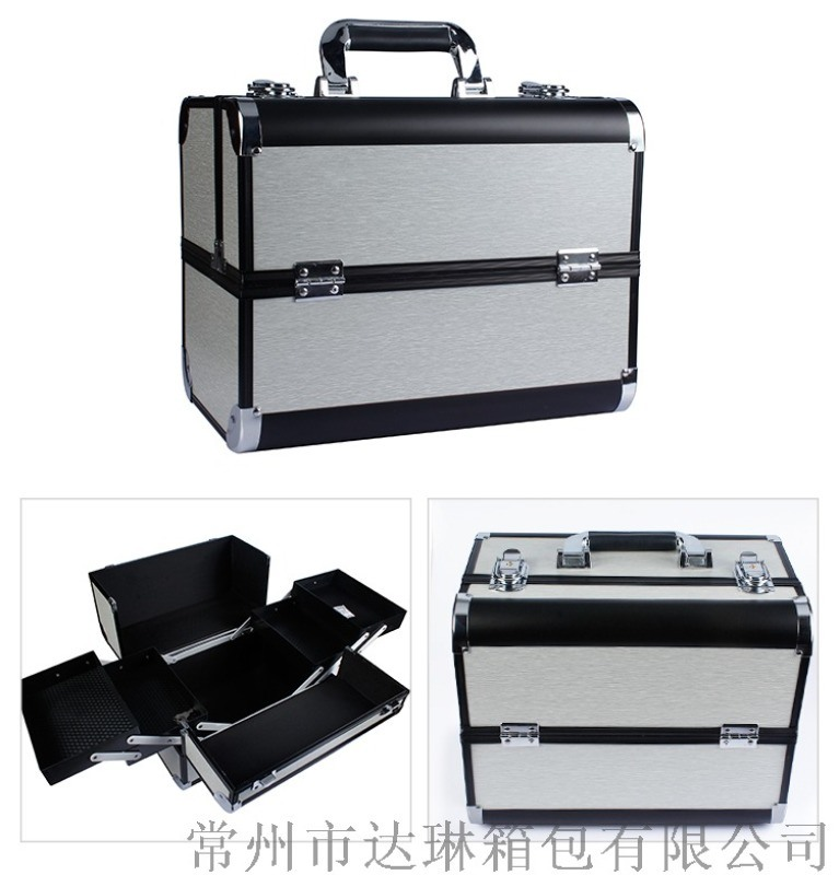 厂家定做化妆箱手提工具箱美容美发箱修脚工具箱