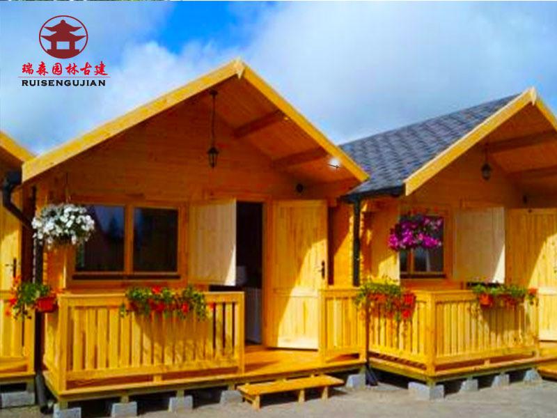 四川木屋廠家,度假村休閒木屋別墅設計修建