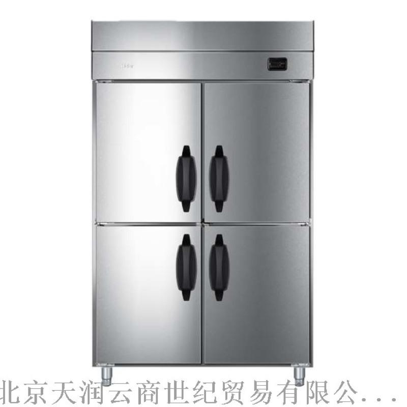 海爾四門雙溫風冷冰箱SL-980C2D2WB商用