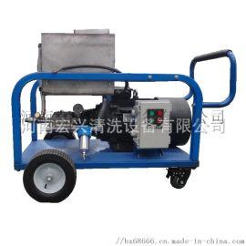 船舶高压水除漆除锈清洗机 轮式移动式电动高压清洗机