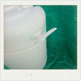 60L双闭口塑料桶白色塑料圆桶60公斤化工桶