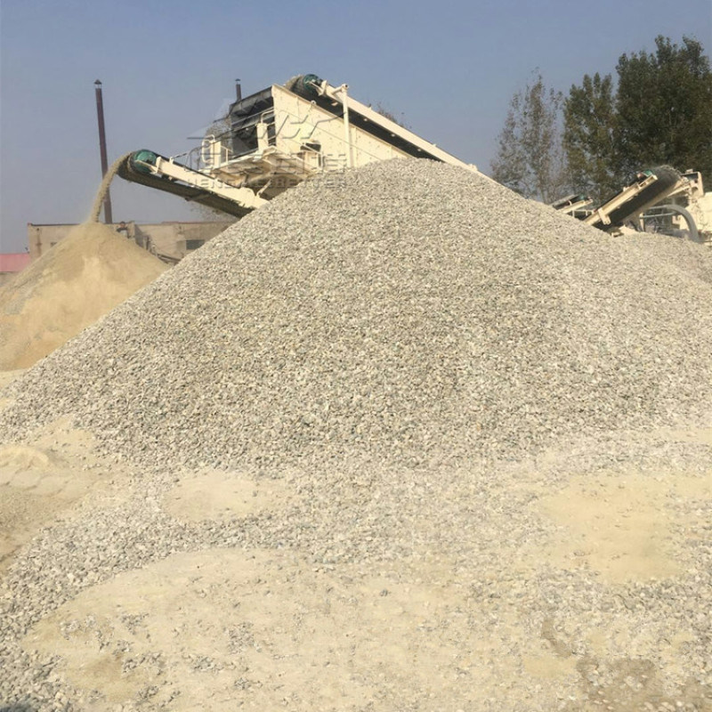 安徽可分期移动式建筑垃圾破碎站厂家