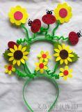 彈簧髮箍創意DIY彈簧兒童可愛彈簧髮箍