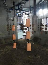 家具配件水性漆全自动静电喷漆生产线