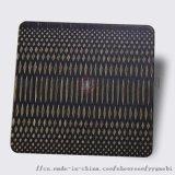 佛山高比拉丝青古铜蚀刻板 彩色不锈钢板蚀刻装饰板