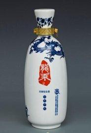 年底青花酒瓶批发,找景德镇生产酒瓶的厂家,1斤装陶瓷酒瓶