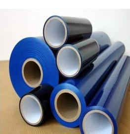 供应PE天蓝保护膜 天蓝色低粘保护膜