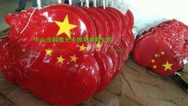 供应LED中国结灯/ LED中国结景观灯/ LED 爱国心