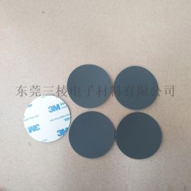 东莞3M硅胶垫 黑色圆形硅胶垫 3M背胶EVA脚垫