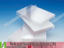 青岛合塑pp中空格子板生产线设备