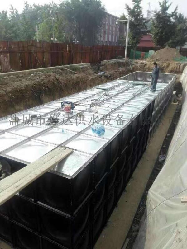 箱泵一體化消防給水泵站