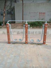 广鑫体育直销  塑木双人漫步机等各种塑木健身路径