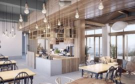 咖啡厅设计轻奢新体验|选特色餐饮设计到和璞设计交易有保障
