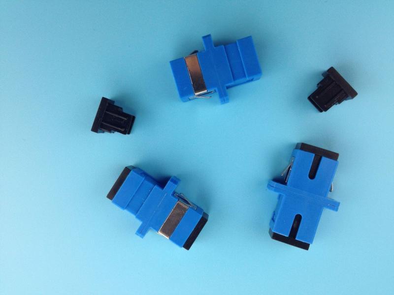 SC/UPC光纖適配器 光纖連接器 光纖法蘭 SC電信級光纖適配器