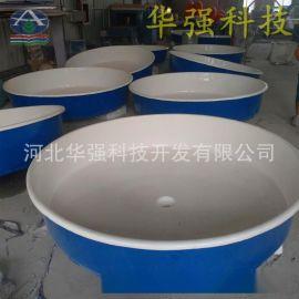 廠家出售玻璃鋼魚池玻璃鋼魚苗養殖魚池水槽圓形孵化池定做加工
