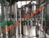 玻璃瓶汽酒、含氣飲料生產線 啤酒灌裝封口一體機BGF