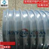 6寸150mmPVC圆骨塑筋增强软管/牛筋管/PVC塑料软管/耐酸碱通风管