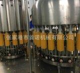 铝箔封口机 牛奶灌装机 铝箔制盖机设备