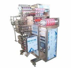 多列小儿冲剂高速颗粒包装机背封感冒冲剂自动包装机高速度