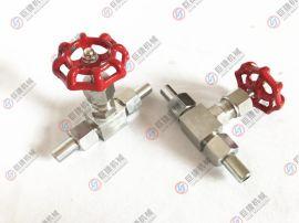 外螺纹针型阀 j23W-160P外螺纹焊接针型阀