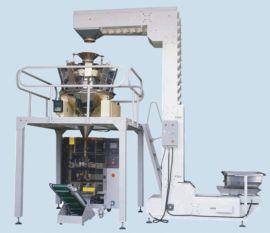 韩国进口休闲食品脆锅巴立式包装机天津麻花立式包装机食品机械