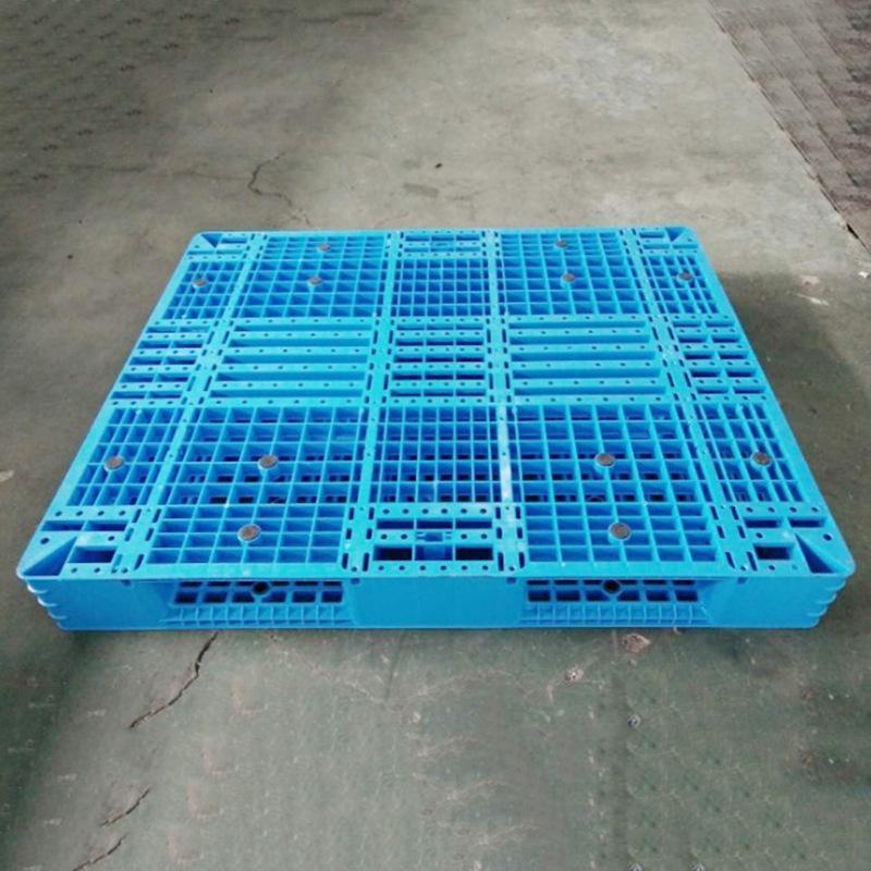 厂家供应网格双面塑料托盘 内置钢管大型托盘 塑料托盘定制