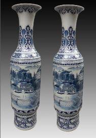 景德镇生产青花陶瓷大花瓶的厂