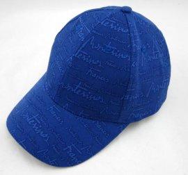印花鴨舌帽