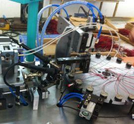 自动转盘式端盖引线焊接机