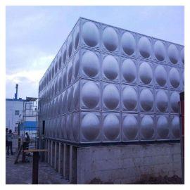 小区消防水箱山东玻璃钢宾馆水箱