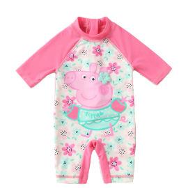 东莞制衣厂家专业生产订制童装泳衣服来料加工订制