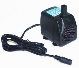 Zp3 流量700L/H 功率20W 24V 静音抽水泵 喷泉泵 鱼缸循环泵潜水