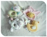 伊夢玩具koalababy外貿兒童嬰兒用品早教益智毛絨玩具小斑狗搖鈴0-1歲批發