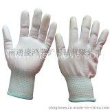 13針尼龍PU塗指手套 防靜電手套
