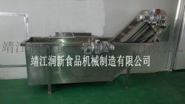 润新机械CXJ型冲浪式汽泡清洗机,湖南杨梅清洗机,杨梅去核榨汁机