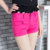 2015夏装新款韩版,大码修身显瘦,时尚气质女式牛仔色裤短裤潮,