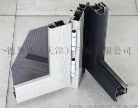 广东铝型材LV-100系列断桥铝防盗网一体窗