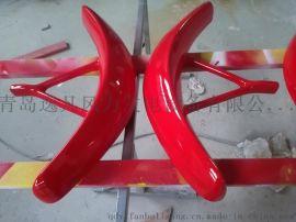 跨年促销!红灯笼系列 0.8米自带支架风叶