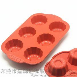 耐高温硅胶烤盘 硅胶蛋糕烘培模具