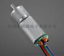 工厂生产加编码器的减速电机