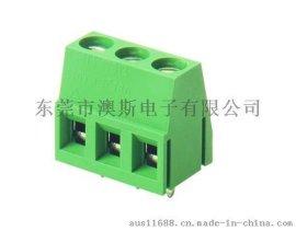 供应5.0MM间距DT-128V环保铜升降式接线端子FS128