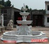 供应欧式喷泉 汉白玉喷泉雕塑 喷泉设计与制作
