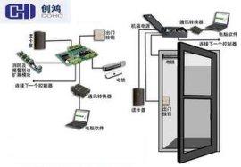 安装玻璃门门禁门禁考勤系统