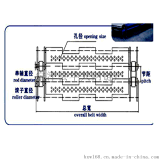 不鏽鋼鏈板傳送帶滾子鏈條的節距是多少