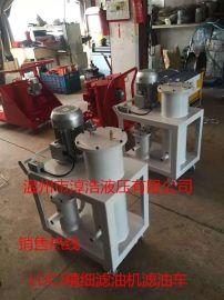 LUCJ精细滤油机滤油车、工业用油便捷式滤油机小车、厂家直销