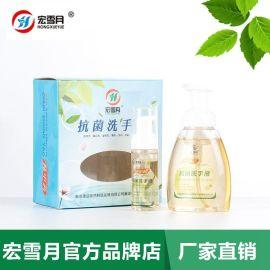 宏雪月泡沫型中草药抗菌洗手液供应商