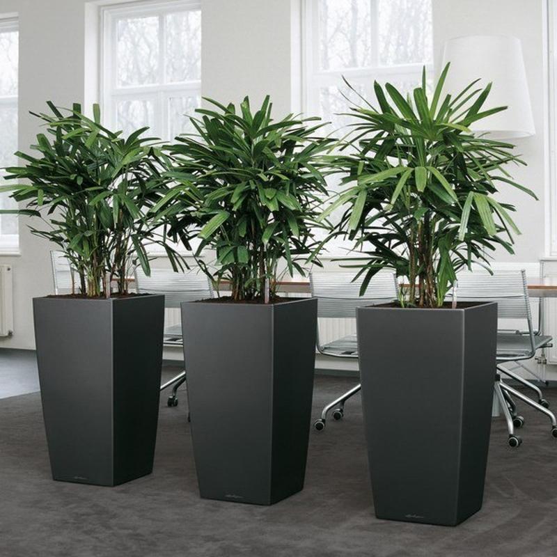 厂家批发玻璃钢花盆 商场美陈菱形面异形玻璃钢花盆组合定制